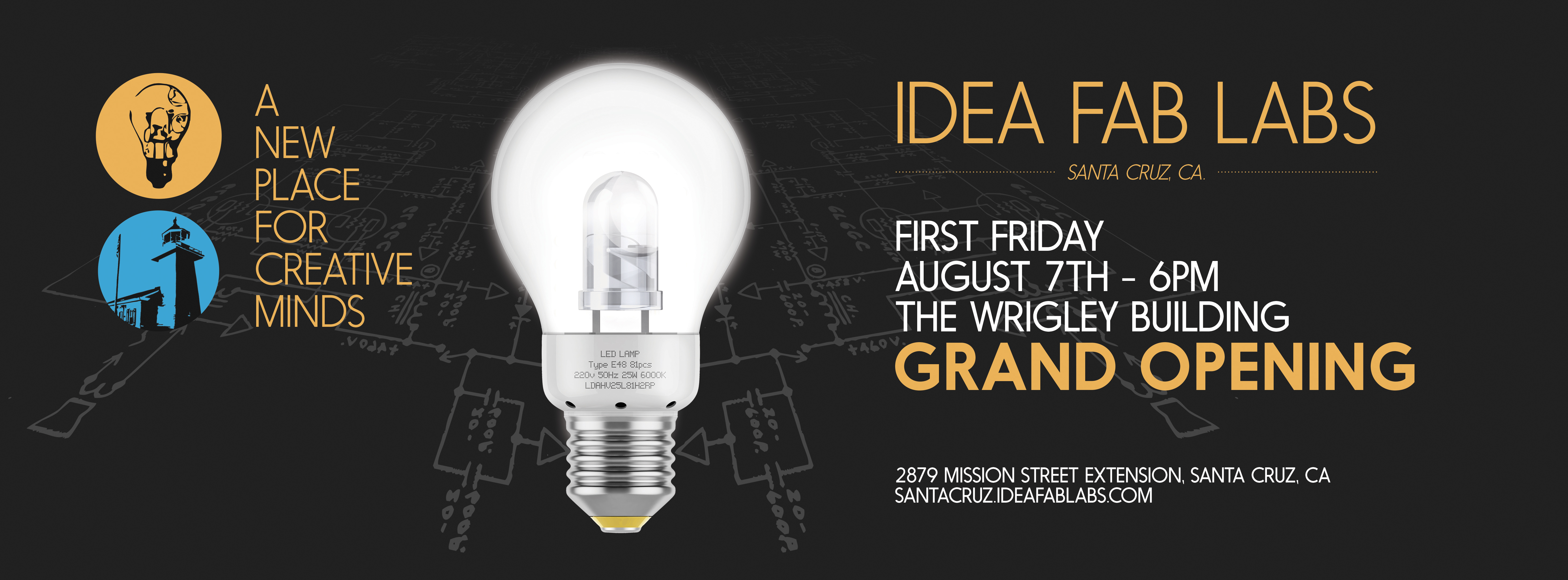 Grand Opening Friday, August 7th, 2015